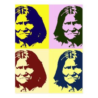 Arte pop Geronimo Tarjetas Postales
