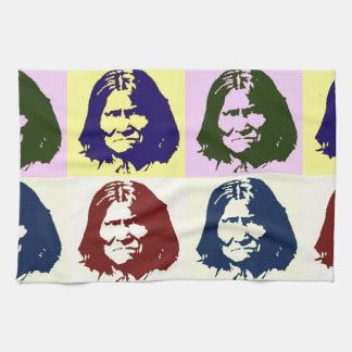 Arte pop Geronimo Toallas De Cocina