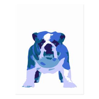 Arte pop inglés del dogo postal