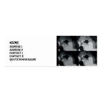 arte pop k-9 tarjeta de visita