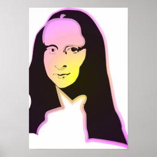 Arte pop Lisa Poster