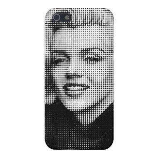 Arte pop Marilyn iPhone 5 Carcasas