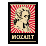 Arte pop Mozart Tarjetas