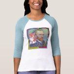 Arte pop para Vincent van Gogh Camisetas