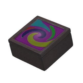 arte pop púrpura colorido caja de joyas de calidad