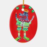 ARTE POP retro del ROBOT del vintage Ornamento De Reyes Magos