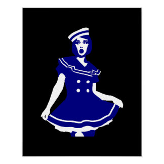 Arte pop - Seemannsbraut atractivo marítimo Poster