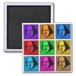 Arte pop Shakespeare Imanes De Nevera