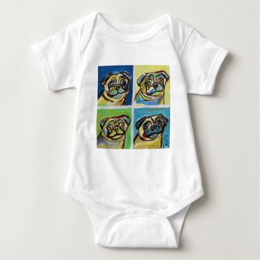 Arte pop sonriente de los barros amasados t-shirts