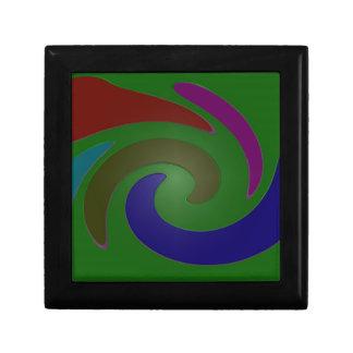 arte pop verde colorido cajas de joyas