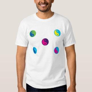 arte pop ying la camiseta de yang poleras
