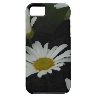 Arte popular americana de las flores oscuras de iPhone 5 Case-Mate cárcasas