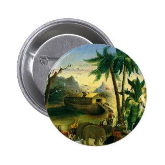 Arte popular del Victorian del vintage, la arca de Pin Redondo 5 Cm