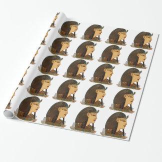 Arte popular egipcio del Pharaoh Papel De Regalo