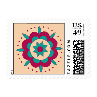 Arte popular esloveno sellos