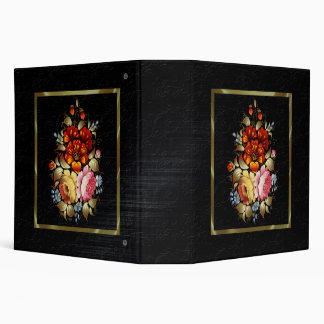 Arte popular floral colorido