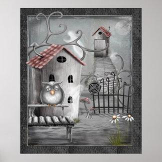 Arte popular gótico de The Creek Poster