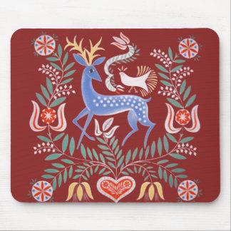 Arte popular húngaro tapetes de raton