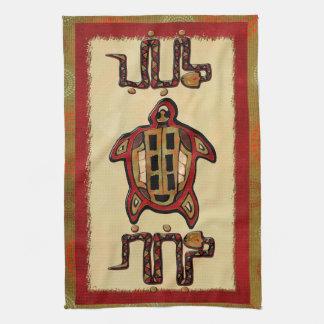 Arte popular maya de Laako'ob Uchben Toalla De Cocina