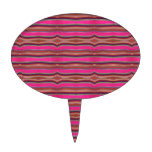 Arte popular México del modelo anaranjado rosado m Palillos De Tarta