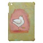 Arte popular moderno lindo del pollo de la diversi