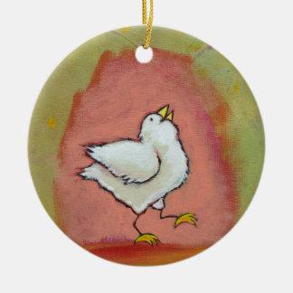 Arte popular moderno lindo del pollo de la diversi ornamento para reyes magos