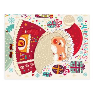 Arte popular Papá Noel Postales