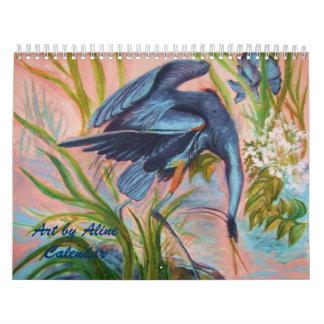 Arte por el calendario de Aline