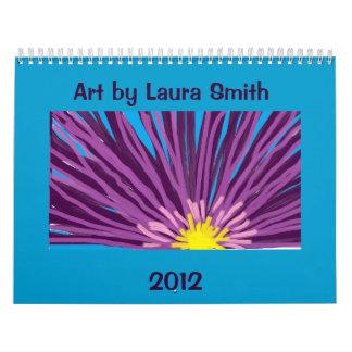 Arte por el calendario de Laura Smith 2012