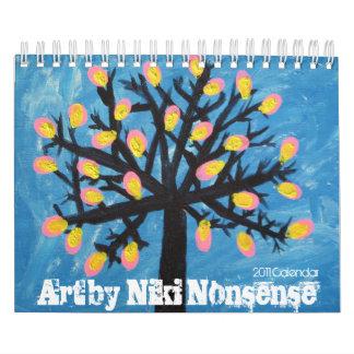 Arte por el calendario del absurdo 2011 de Niki