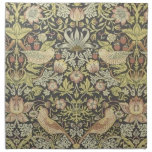 Arte pre Raphaelite del vintage de William Morris Servilleta De Papel