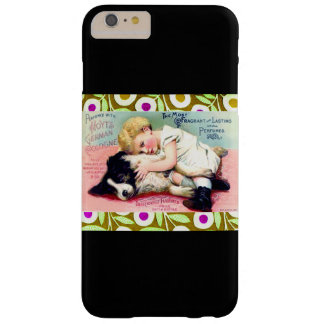 ¡ARTE PRINT/CHILD W PET/IPHONE 6 DEL VINTAGE FUNDA DE iPhone 6 PLUS BARELY THERE