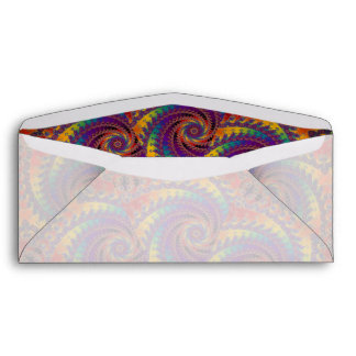 Arte psicodélico del fractal del arco iris del sobres