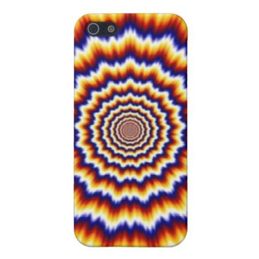 arte psicodélico del hippy del doblador de la ment iPhone 5 cárcasas