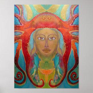 Arte psicodélico - Psychedelic especie póster 60s Poster