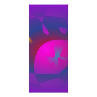 Arte púrpura abstracto de la nebulosa tarjetas publicitarias personalizadas