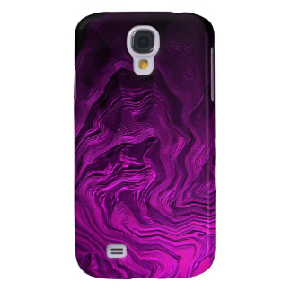 Arte púrpura abstracto del alambre samsung galaxy s4 cover