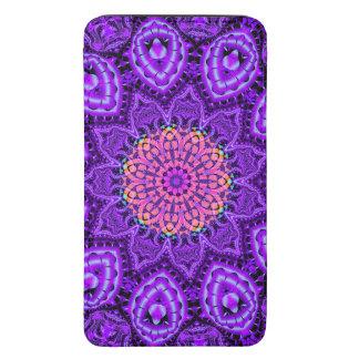Arte púrpura adornado del caleidoscopio de las vib bolsillo para móvil