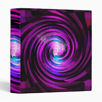 """Arte púrpura de Abstraact de la onda Carpeta 1"""""""