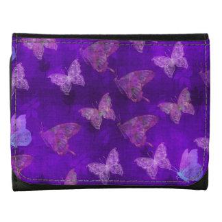 Arte púrpura de la mariposa