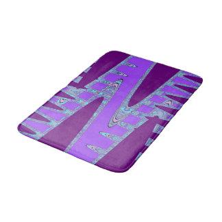arte púrpura del baño