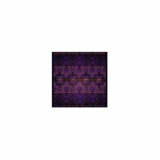 Arte púrpura del fractal del dragón de Mobius Adorno Fotoescultura