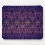 Arte púrpura del fractal del dragón de Mobius Alfombrilla De Ratón