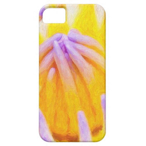 arte-púrpura-lirios iPhone 5 Case-Mate carcasa