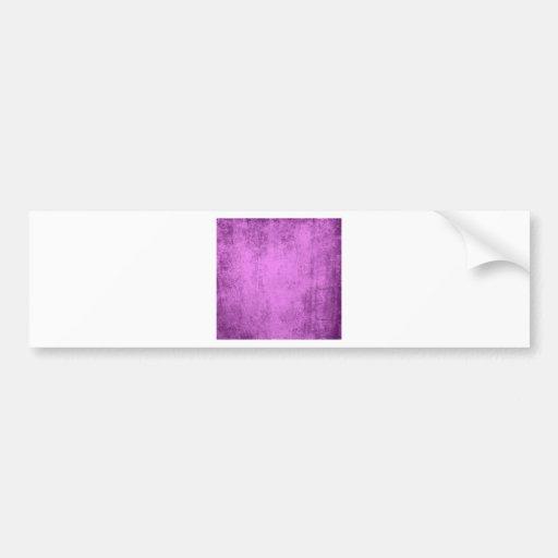 Arte púrpura pegatina para auto