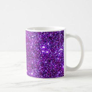 Arte púrpura púrpura de la ilusión óptica de la taza clásica