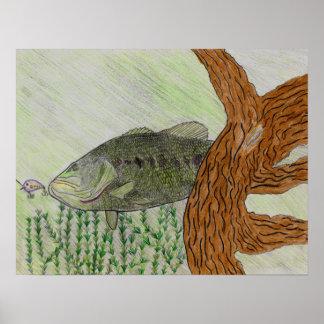 Arte que gana de C. Spencer Grade 8 Póster