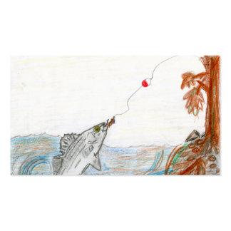 Arte que gana de E. McKinney II - grado 6 Tarjetas De Visita