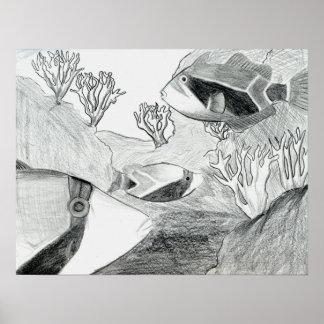 Arte que gana de E. Osurman Grade 6 Póster