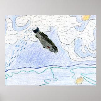 Arte que gana de J. Osterday - grado 6 Póster